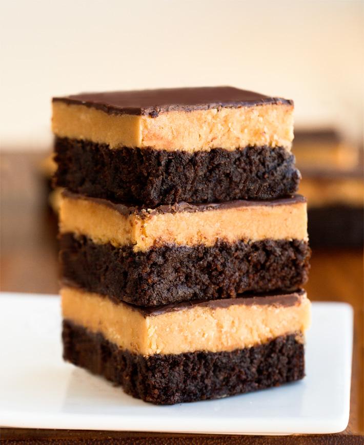 Easy Peanut Butter Brownies Recipe