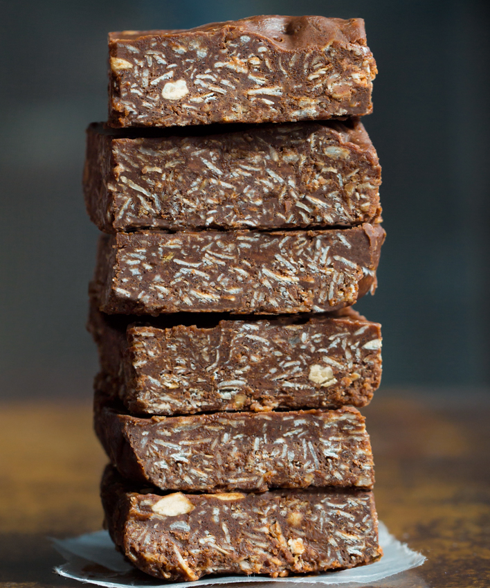 No Bake Chocolate Oatmeal Bar Recipe