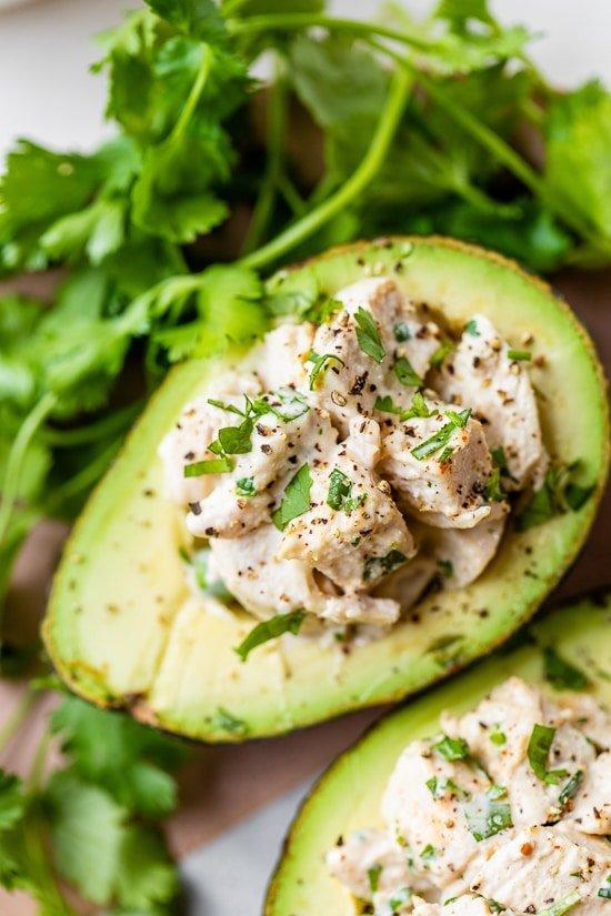 Cilantro Chicken Avocado