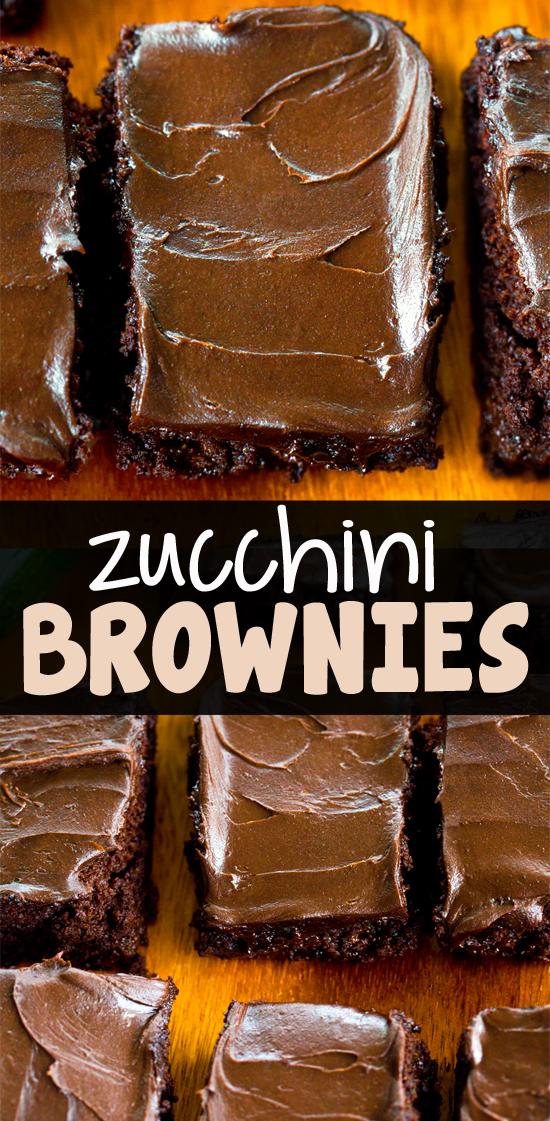 Chocolate Zucchini Brownie Dessert