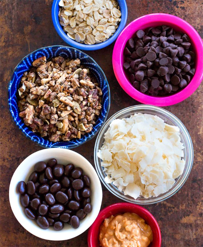 Acai Bowl Ingredients Toppings