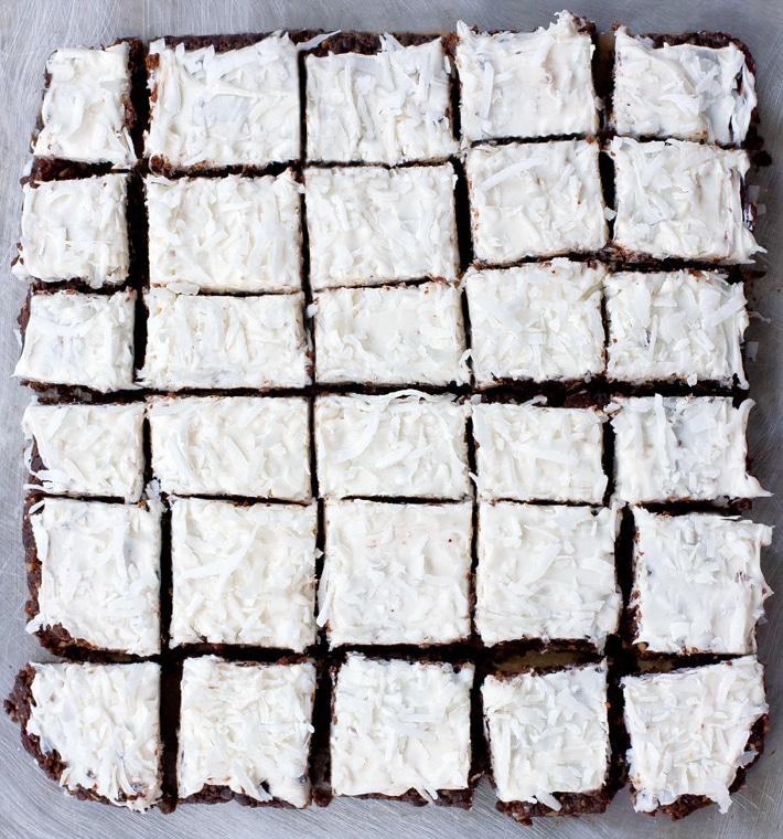 Chocolate Coconut Brownies