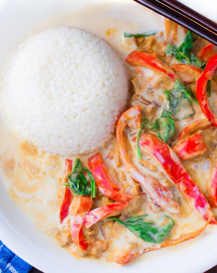 Thai Coconut Curry Recipe