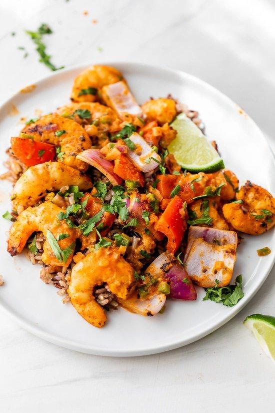 Coconut Red Curry Shrimp