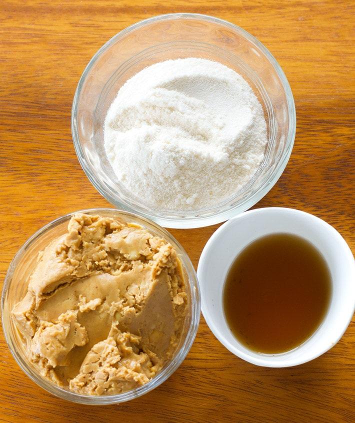 Peanut Butter Snack Ingredients