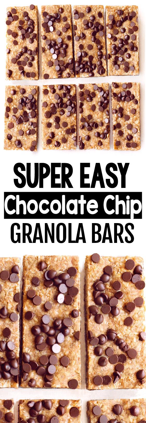 Healthy Homemade Chewy Granola Bar Recipe