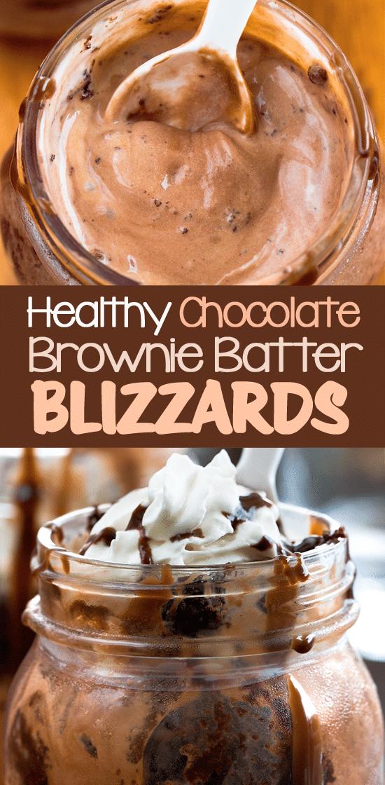 Healthy Dairy Queen Chocolate Brownie Blizzard Recipe