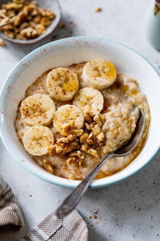 Banana Nut Protein Oats