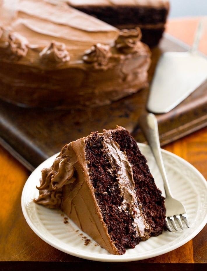 Dairy Free Egg Free Vegan Chocolate Layer Cake