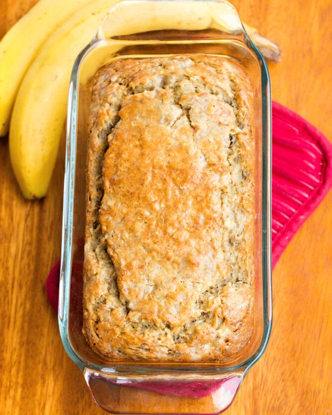 Vegan Breakfast Banana Bread