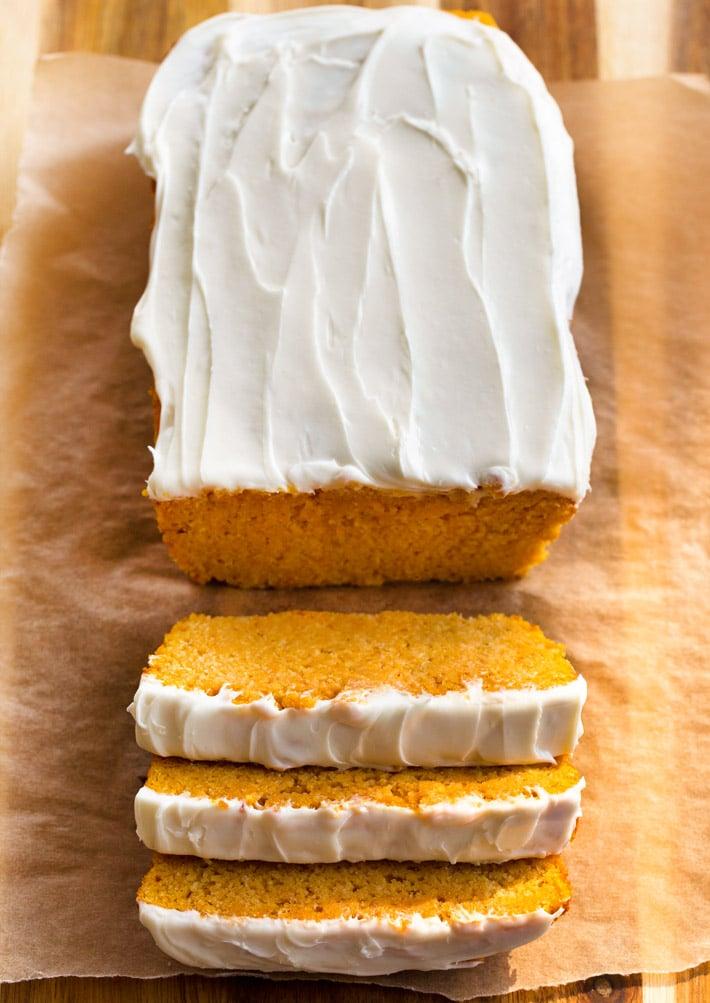 Keto Pumpkin Loaf Recipe