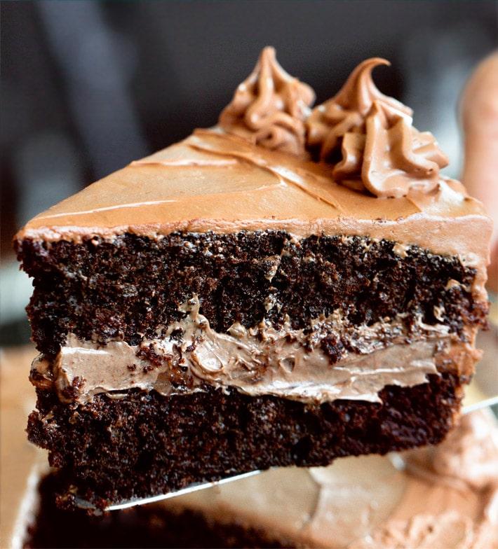 Vegan Chocolate Fudge Cake Recipe