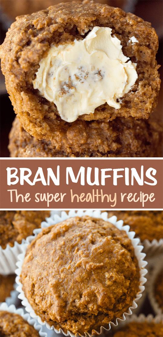 Bakery Style Bran Muffin Recipe