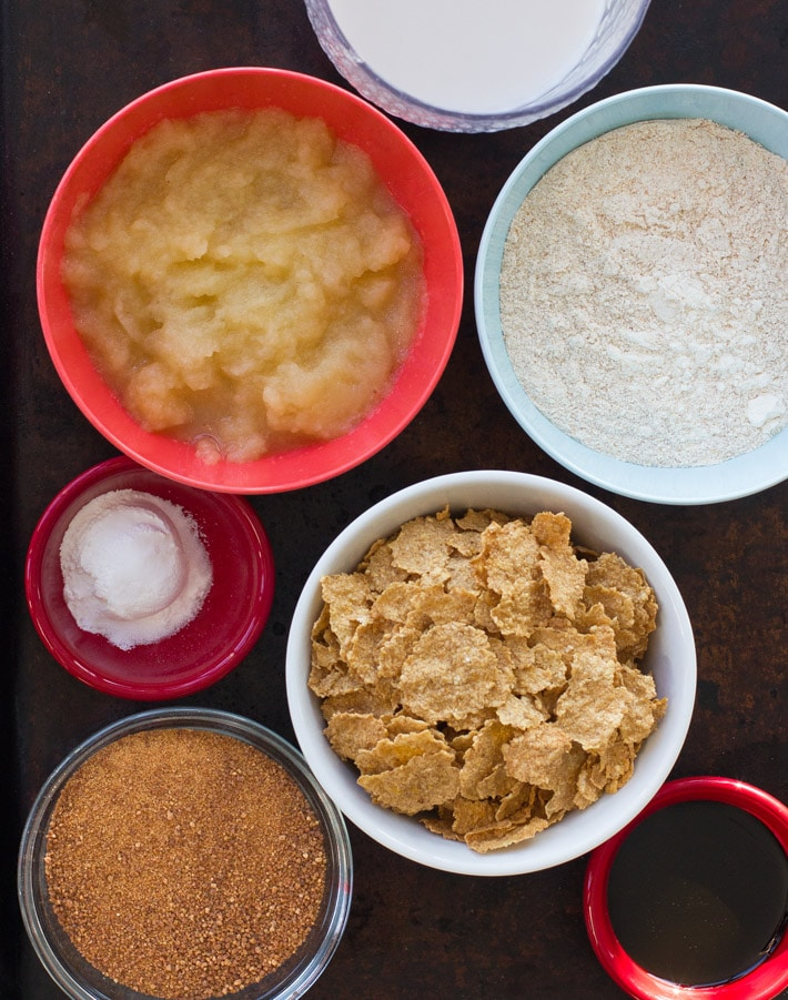 Bran Muffin Ingredients